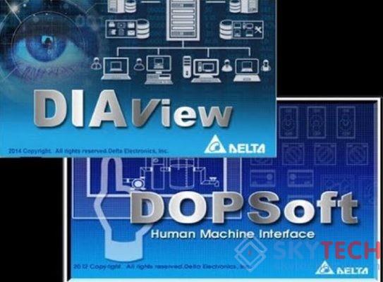Phần mềm vận hành DOPSoft của DElta Electronics